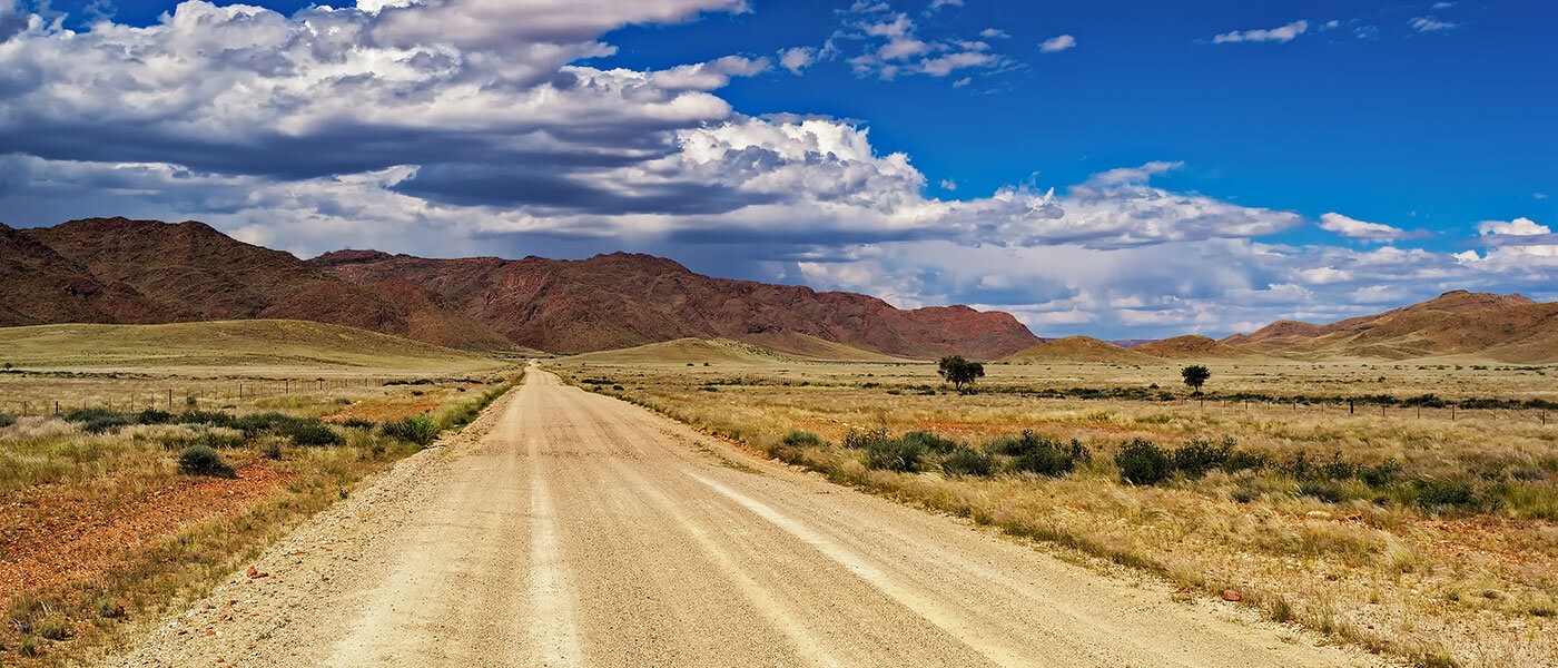 Namib Desert Landscape - Upington 4x4 Rental