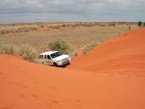 4x4 Rental - Kalahari Desert South Africa