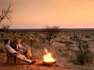 4x4 Rental South Africa - Camping in Kalahari Desert